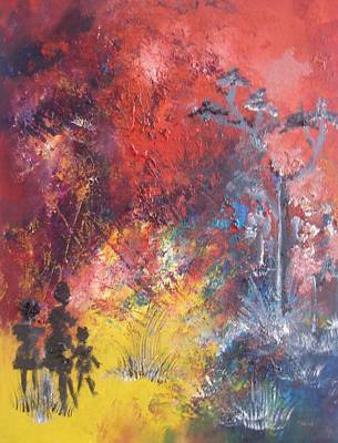 Painting - Walking In The Light by Linda Ferreira
