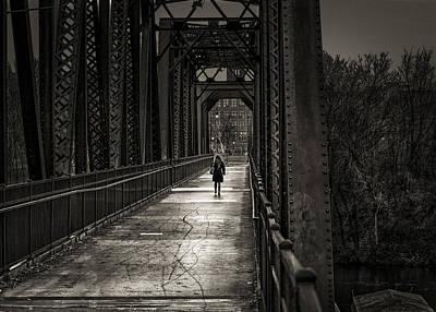 Photograph - Walking In The Rain by Bob Orsillo