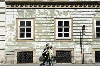 Photograph - Walking In Vienna by Sharon Popek