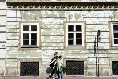 Photograph - Walking In Vienna by Sharon Popek