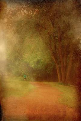 Photograph - Walking Into A Dream - Holmdel Park by Angie Tirado