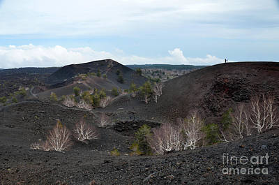 Photograph - Walking Into Bove Valley On Mount Etna by RicardMN Photography