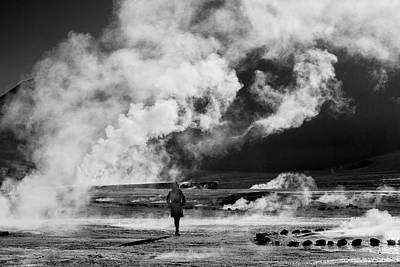 Photograph - Walking Into Fire by David Hare