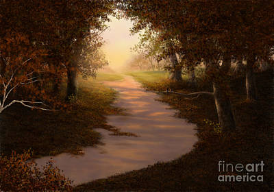 Painting - Walking Into The Light by Sena Wilson