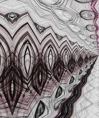 Rhythm And Blues Digital Art - Walking Into The Void by Sir Josef - Social Critic -  Maha Art