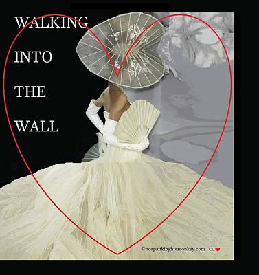 Painting - Walking Into The Wall by Catherine Lott