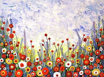 Painting - Walking On Sunshine by Jane Chesnut