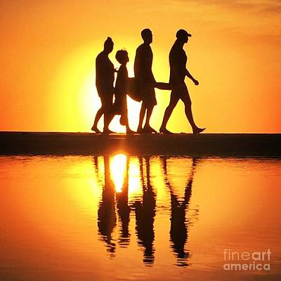 Photograph - Walking On Sunshine by LeeAnn Kendall