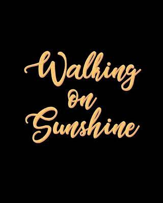 Mixed Media Royalty Free Images - Walking on Sunshine - Minimalist Print Royalty-Free Image by Studio Grafiikka