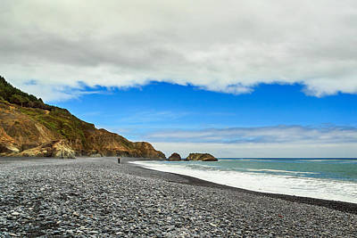 Photograph - Walking On The Lost Coast by James Eddy