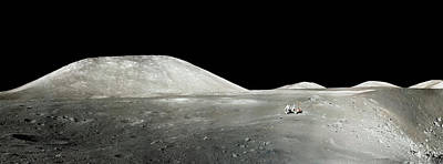 Photograph - Walking On The Moon by Weston Westmoreland