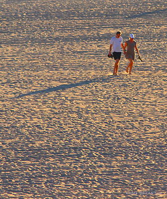 Photograph - Walking On The Setting Sun by Kume Bryant