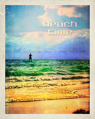 Photograph - Beach Time by Tammy Wetzel