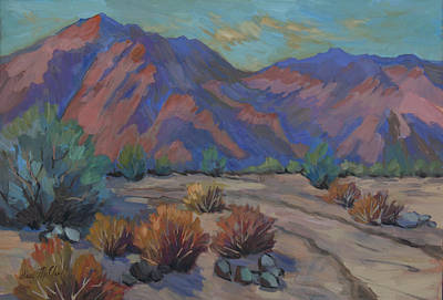 Painting - Walking Path In La Quinta Cove by Diane McClary