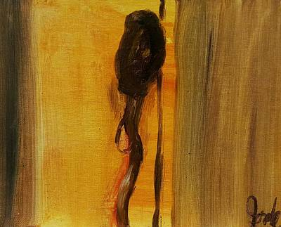 Painting - Walking Stick And Hat by Steve Jorde