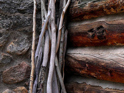 Photograph - Walking Sticks by Jeannie Bushman