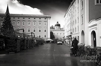 Photograph - Walking The Baby In Salzburg by John Rizzuto