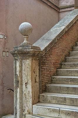 Walking The Castel Art Print by JAMART Photography