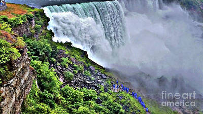 Photograph - Walking The Falls Hdr by Raymond Earley