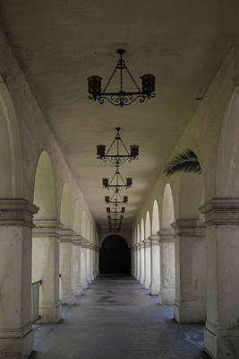 Photograph - Walking The Hallways At Balboa Park - 1 by Hany J