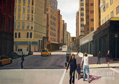 Painting - Walking The Lines by Tate Hamilton