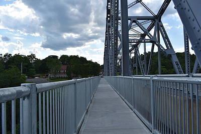 Photograph - Walking The Rip Van Winkle Bridge I by Nina Kindred
