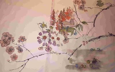 Painting - Walking Through A Garden Of Plenty Album by Debbi Saccomanno Chan