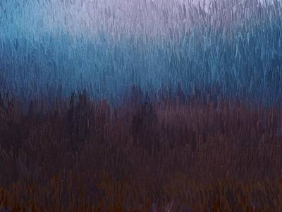 Painting - Walking Through Fields by Mark Taylor