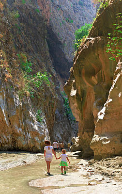Photograph - Walking Through The Gorge Of Saklikent by Sun Travels