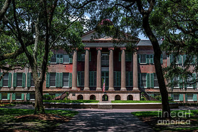 College Of Charleston Photograph - Walking Through Time by Dale Powell