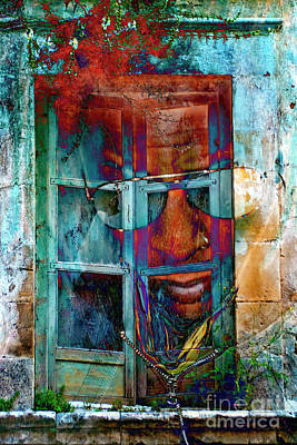 Walking Through Walls Art Print