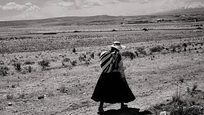 Photograph - Walking Woman No. 1-1 by Sandy Taylor