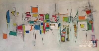 Painting - Walkthrough by Jeff Barrett