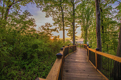 Photograph - Walkway At Fort Boreman by Jonny D
