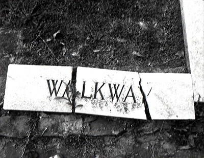 Walkway Art Print by Utopia Concepts