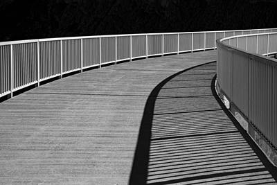 Art Print featuring the photograph Walkway by Chevy Fleet