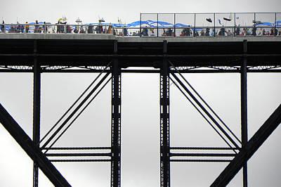 Walkway Over The Hudson 2009 Opening Day Celebration Art Print by Joseph Duba