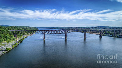 Photograph - Walkway Over The Hudson by Joe Santacroce
