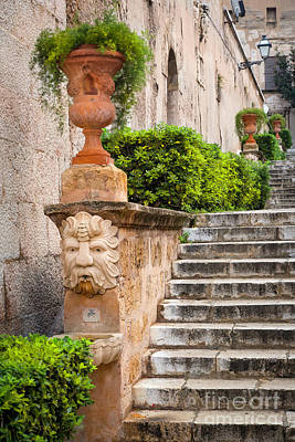 Photograph - Walkway - Palma De Mallorca by Brian Jannsen
