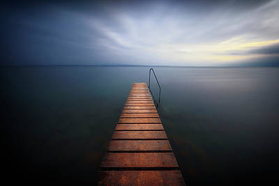 Photograph - Walkway To Happiness by Dominique Dubied