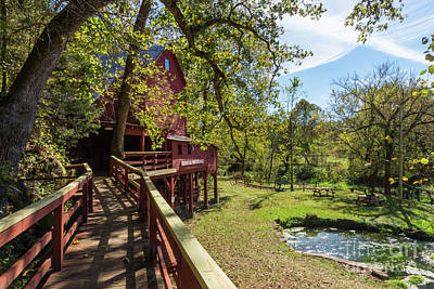 Photograph - Walkway To Hodgson Mill by Jennifer White