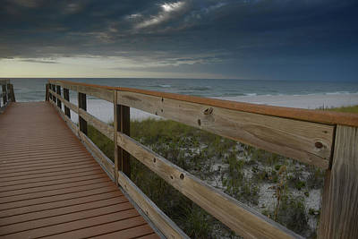 Photograph - Walkway To Paradise by Renee Hardison