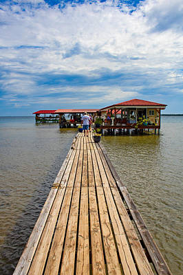 Photograph - Walkway To Pearl Farm by Martin Naugher