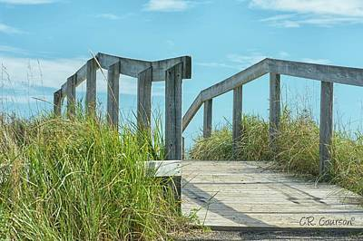 Photograph - Walkway To The Beach by CR Courson