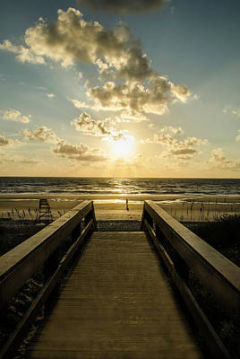 Photograph - Walkway To The Beach by David Cabana