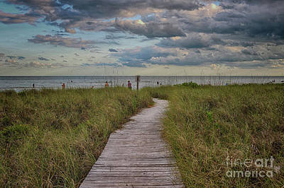 Photograph - Walkway To The Beach by Deborah Benoit