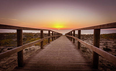 Photograph - Walkway To The Sunrise by Gary Gillette