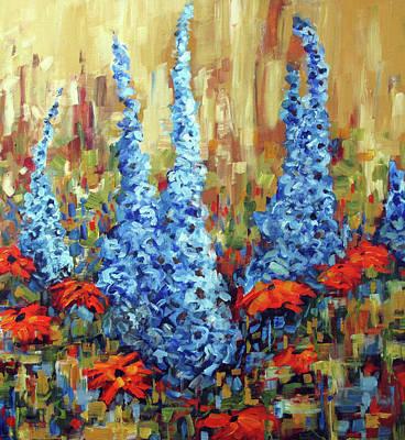 Painting - Walkway Treasures by Nancy Day