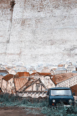 Photograph - Wall #2521 by Andrey  Godyaykin