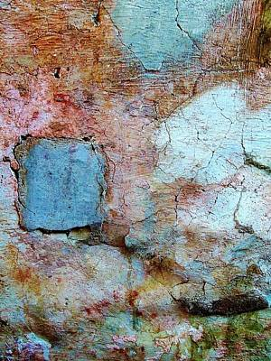 Photograph - Wall Abstract 138 by Maria Huntley